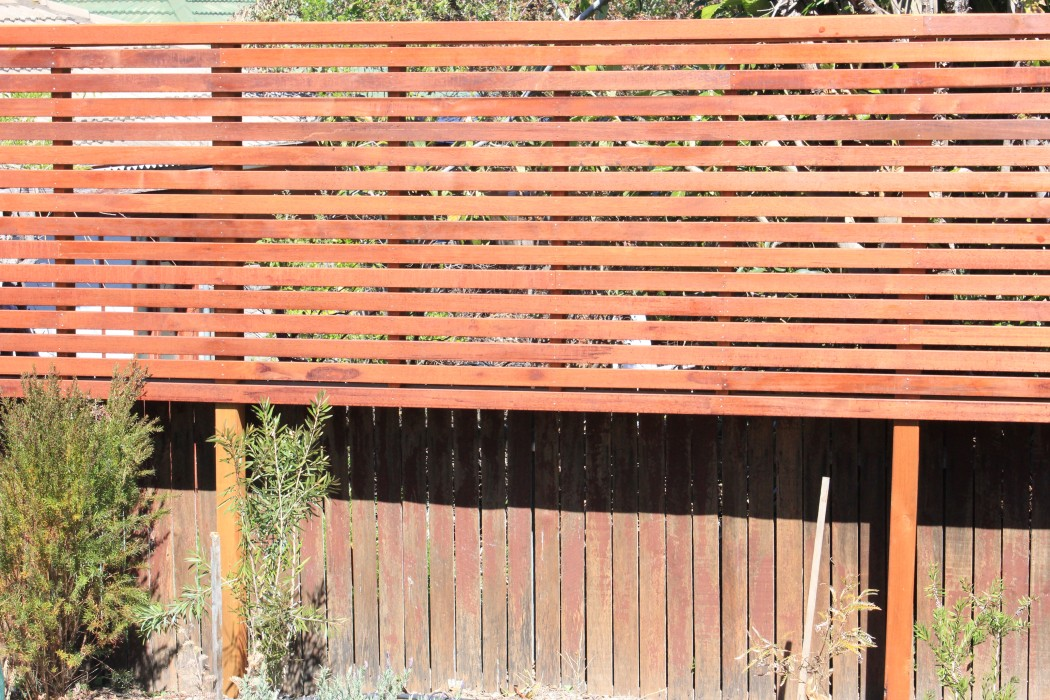 Wayne goodwin privacy screen o connor for Fence screening solutions