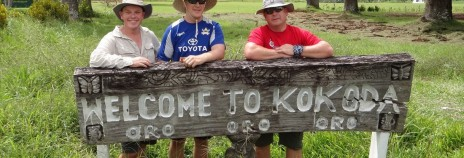 Wayne at the Kokoda Track Challenge