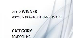 MBA 2012 Remodelling Award Winner